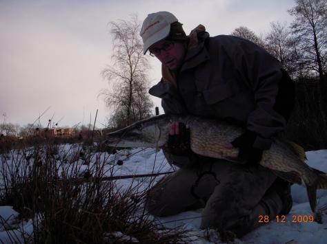 - Denne dejlige fisk på knapt 10 kilo, grundlagde min kærlighed til denne sø :-)