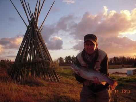 - Altid lækkert derude i den friske vestjyske natur (Arkivfoto, ULFISK.com)