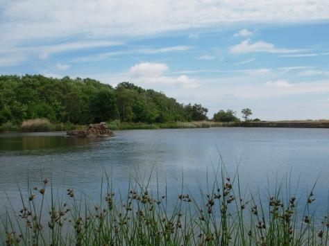 - Den spændende sø er opstået ud fra et tidligere stenbrud
