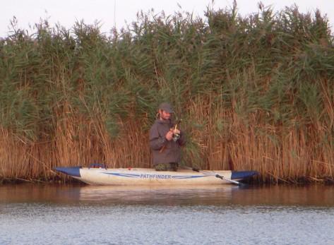 - Jari i aktion fra den fikse gummi-kajak (arkivfoto, ULFISK.com)