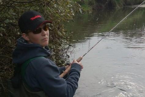 - Jonas, - en sej dude og en dygtig UL-fisker :-)