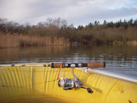 """- Søen byder på mange yderst """"skumle"""" vige, og både U.L.-gearet og Stripperen var klar"""