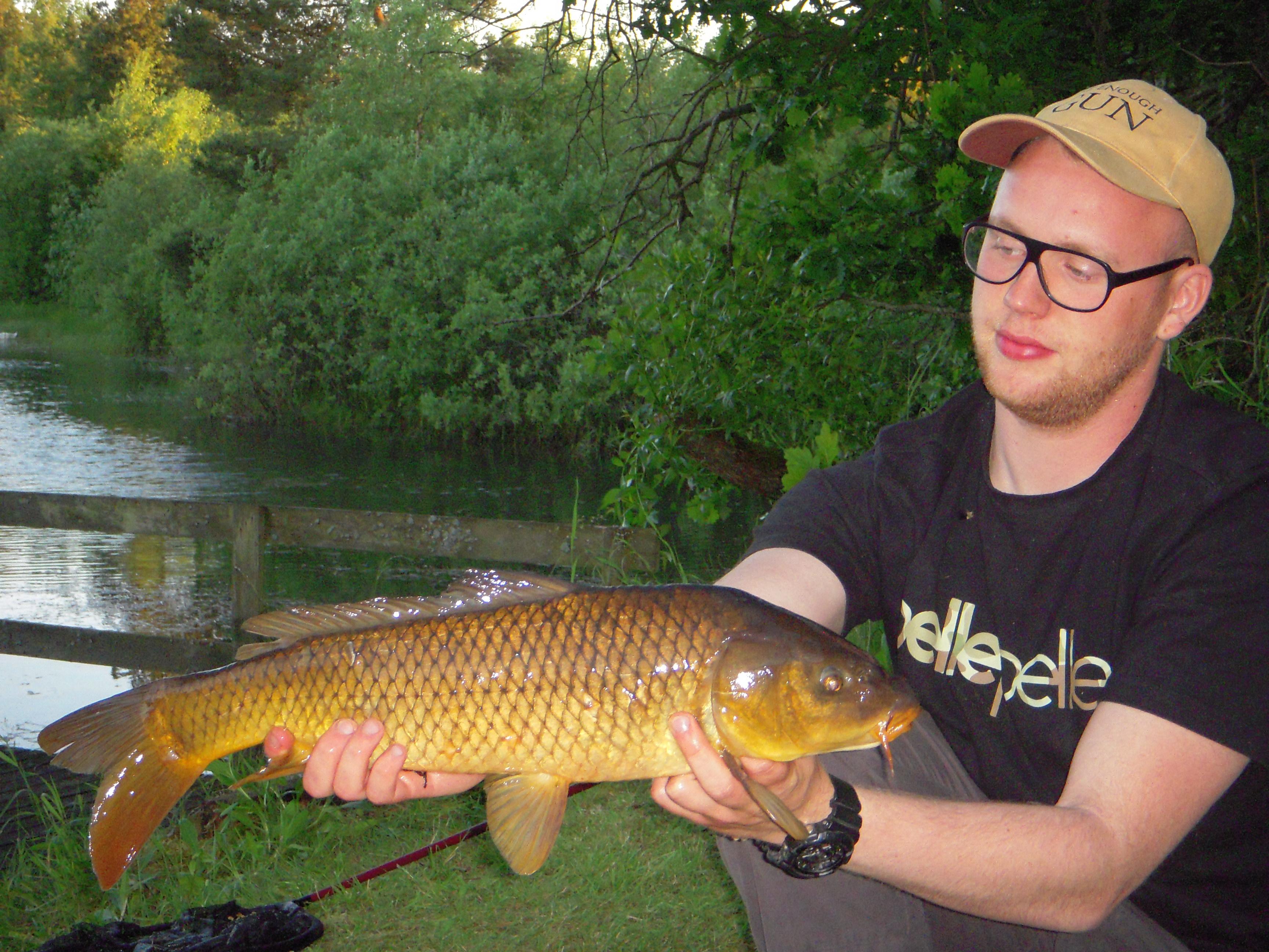 9f5b8df5b55c35 Godt fisket Rasmus! - Vi kan nemt blive enige om at karpen er en
